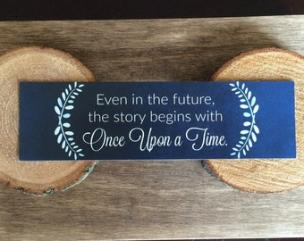 Lunar Chronicles Bookmark - Quote - Cinder - Once Upon A Time - Fairytale