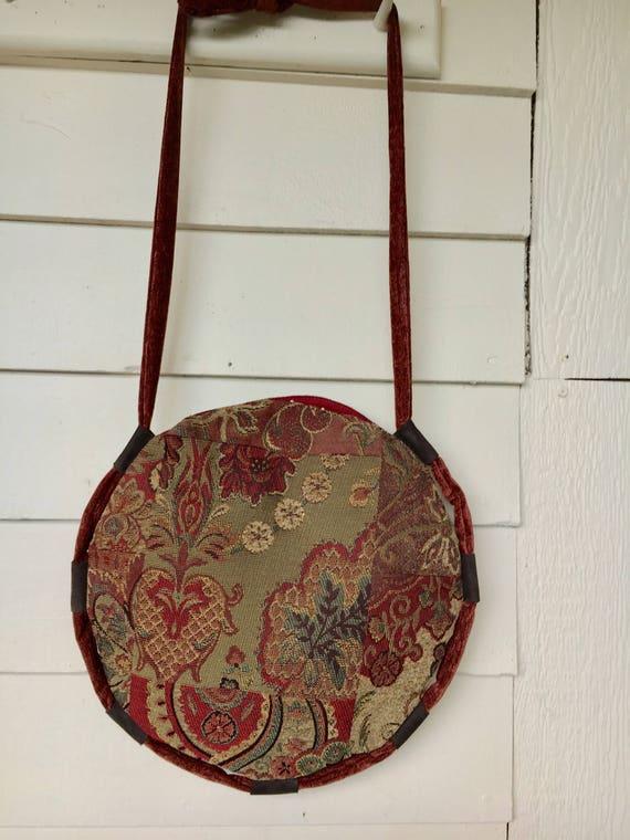 Sacs sac à bandoulière-denisminerve tapisserie rond