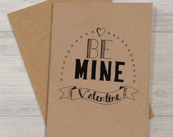 Valentines Card -hand drawn