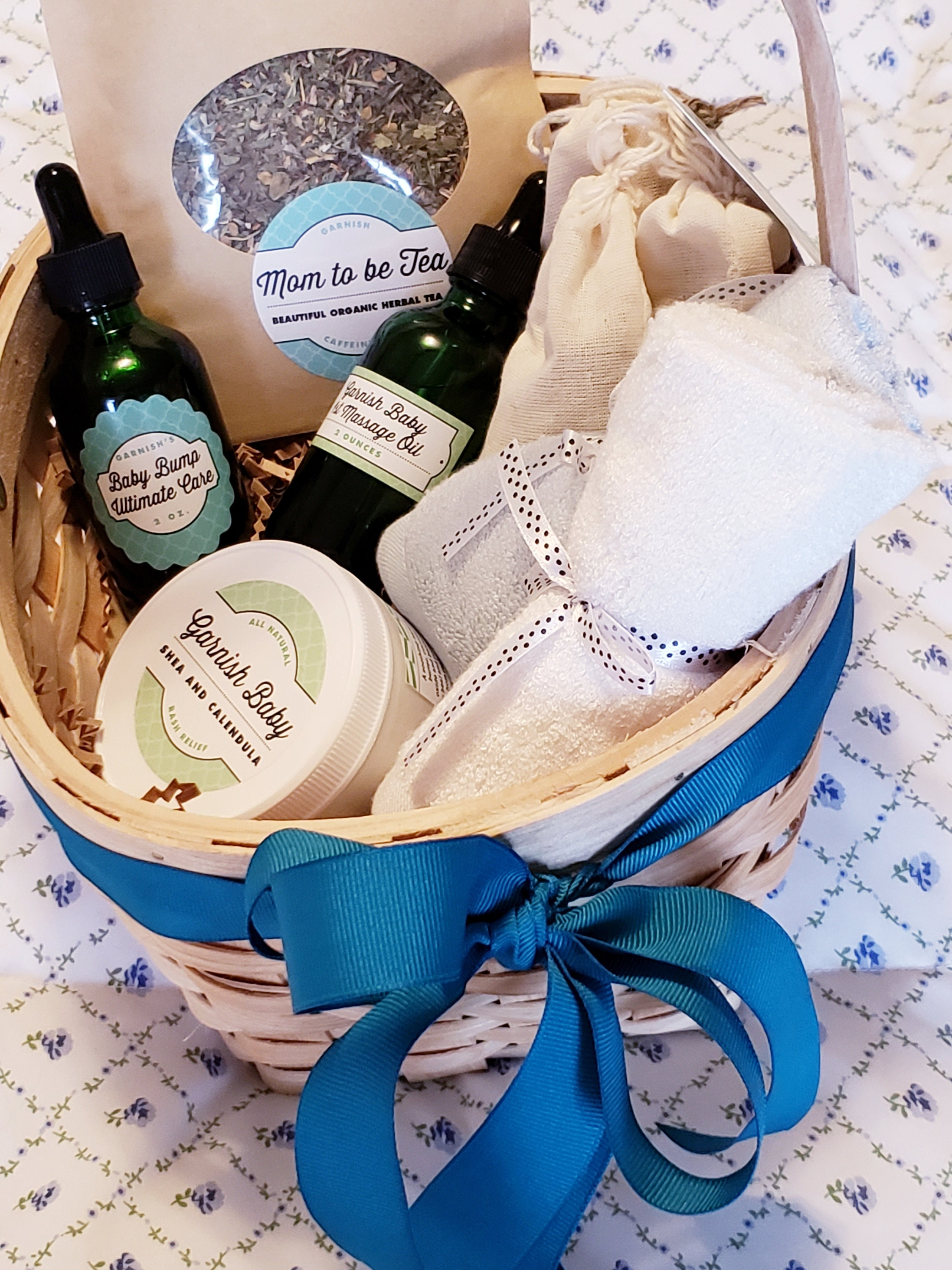 Shipping to  Free & Baby Shower Gift basket. Gift for Mom to be. Gift for new Mom and ...
