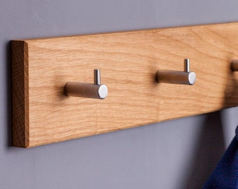 Coat rail // different variants // simply // made of solid wood // handmade