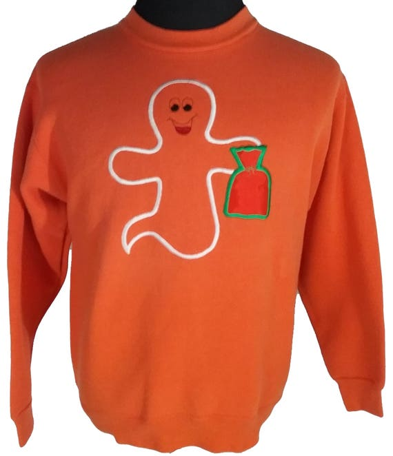 Ugly Halloween Ghost Sweater