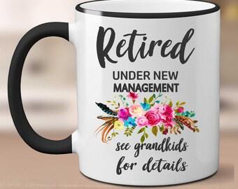 retirement mug etsy