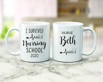 Details about  /Lvn Mug Personalized Lvn Mug Lvn Coffee Cup Licensed Vocational Nurse Graduation