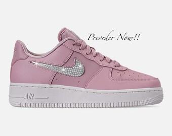 de98373907a5b Nike air force pink   Etsy