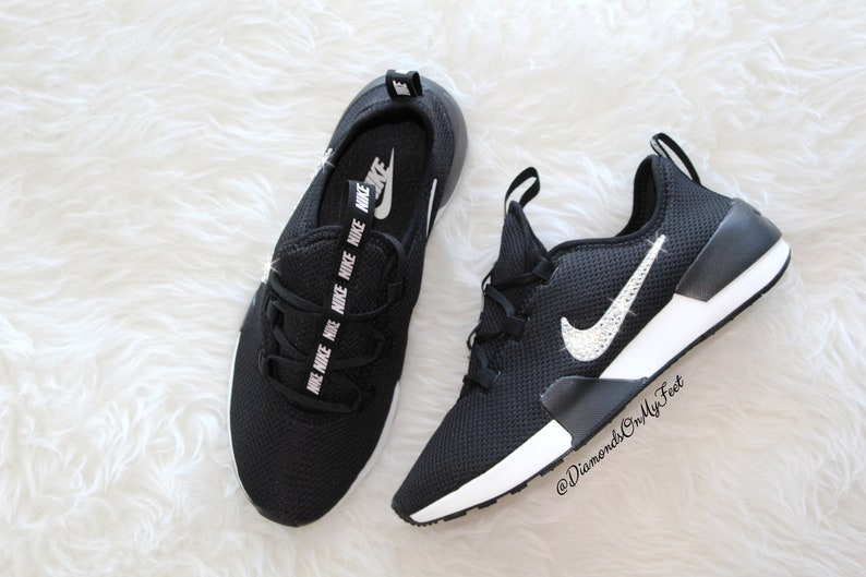 ef65e9db2 Swarovski Women s Nike Ashin Modern Roshe Run Black