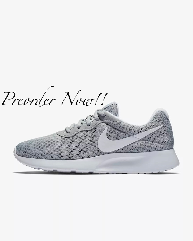 791b48bf8de1 Swarovski Women s Nike Air Max Tanjun Grey Sneakers Blinged Out With  Authent... Swarovski Women s Nike Air Max Tanjun Grey Sneakers Blinged Out  With ...