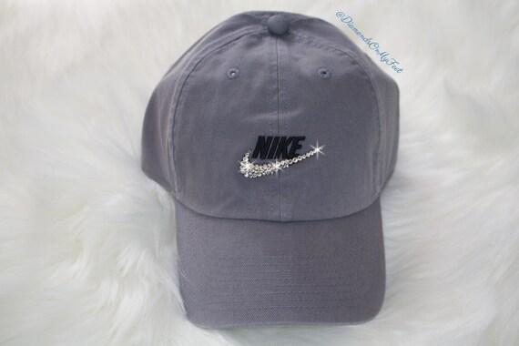 56ecfcd08c Swarovski Women's Nike Sportswear H86 Washed Futura | Etsy