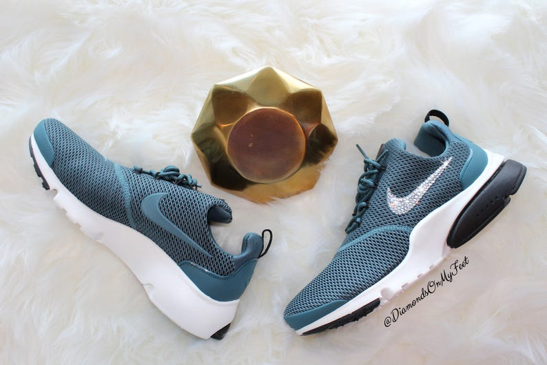 1b765b9dc Size 8   8.5 Swarovski Women s Nike Presto Fly Blue