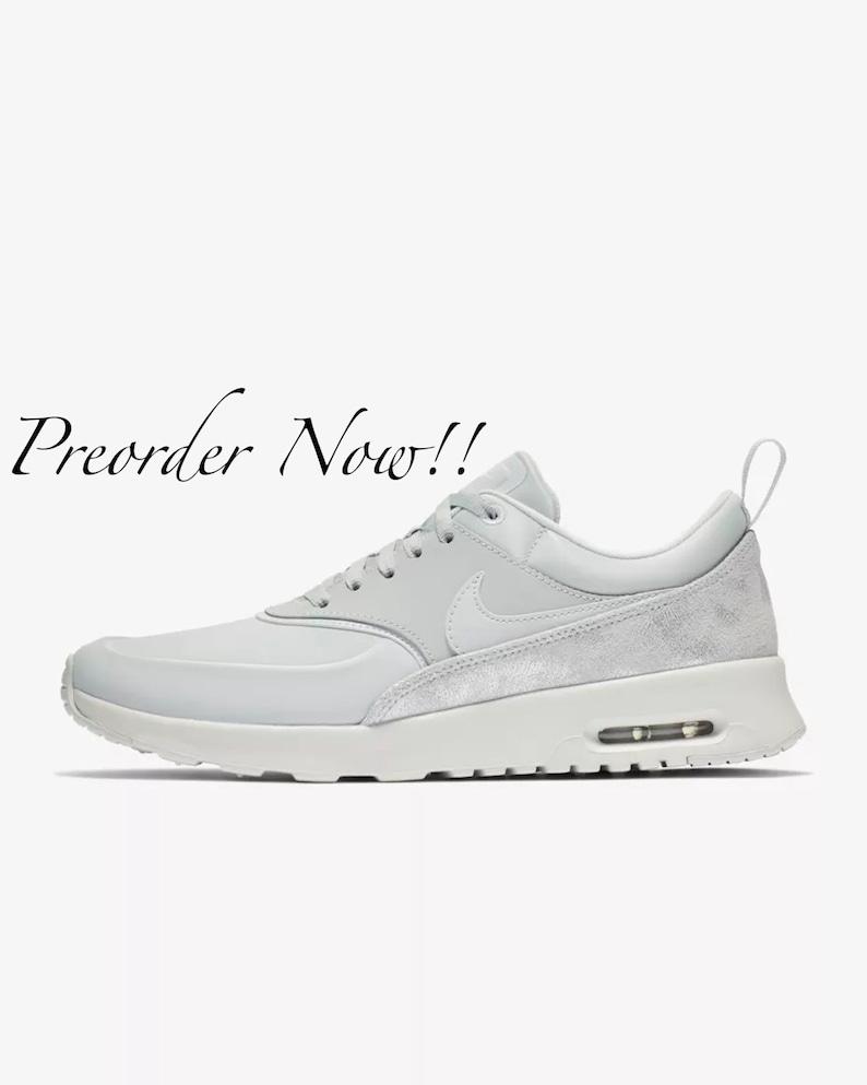 cc8d7c4fa Swarovski Women s Nike Air Max Thea Pure Platinum Sneakers