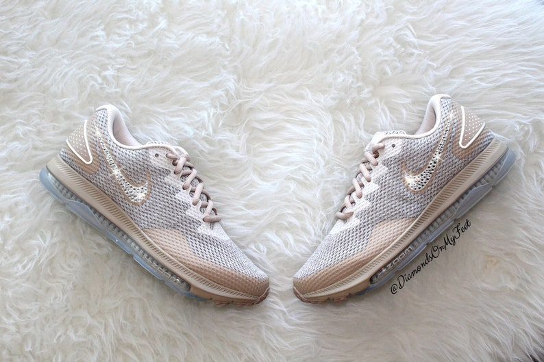 386157179dbf Swarovski Women s Nike Zoom All Out Low 2 Air Max Tan