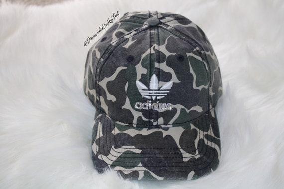 Swarovski Women s Adidas Sportswear Precurved Strapback  2835c9ff67d5