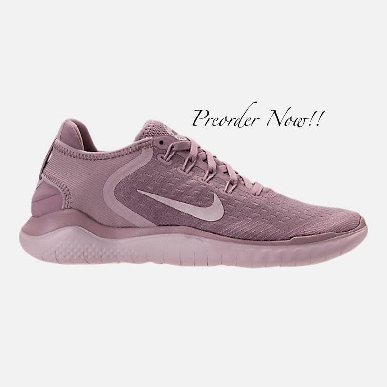 bc2543dd8dcc Swarovski Women s Nike New Free RN Run 2018 All Pink