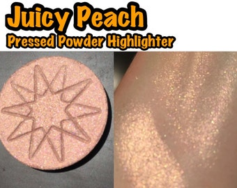 Juicy Peach - Pressed Powder Highlighter / Eyeshadow - 36mm PAN
