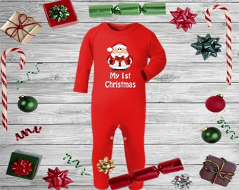 9f01b67c8c50 Christmas baby pjs