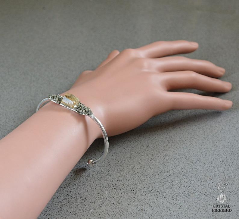 Boho Bracelet Gifts for Her Handmade Healing Crystal Bracelet Citrine Crystal Jewelry November Birthstone Jewelry Crystal Healing Jewelry