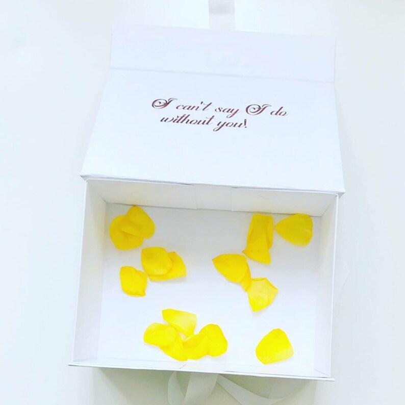 Personalised gift box, White bridesmaid box personalised gift, wedding gift  box, personalised gift boxes, wedding favours customised box