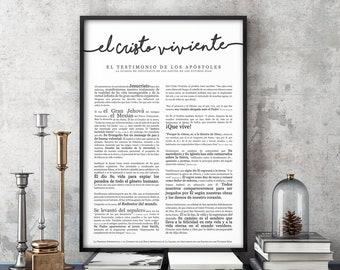 el Cristo viviente- Premium Print- Spanish Living Christ
