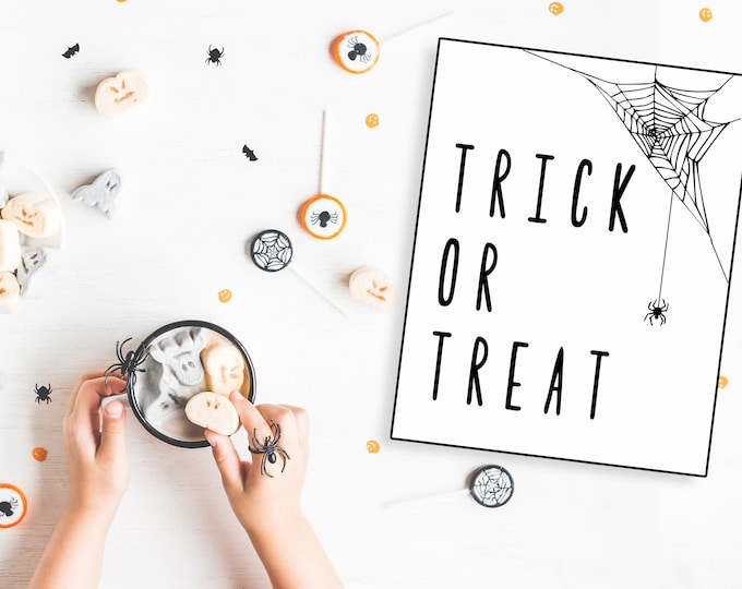 Trick or Treat- Modern Halloween Decor