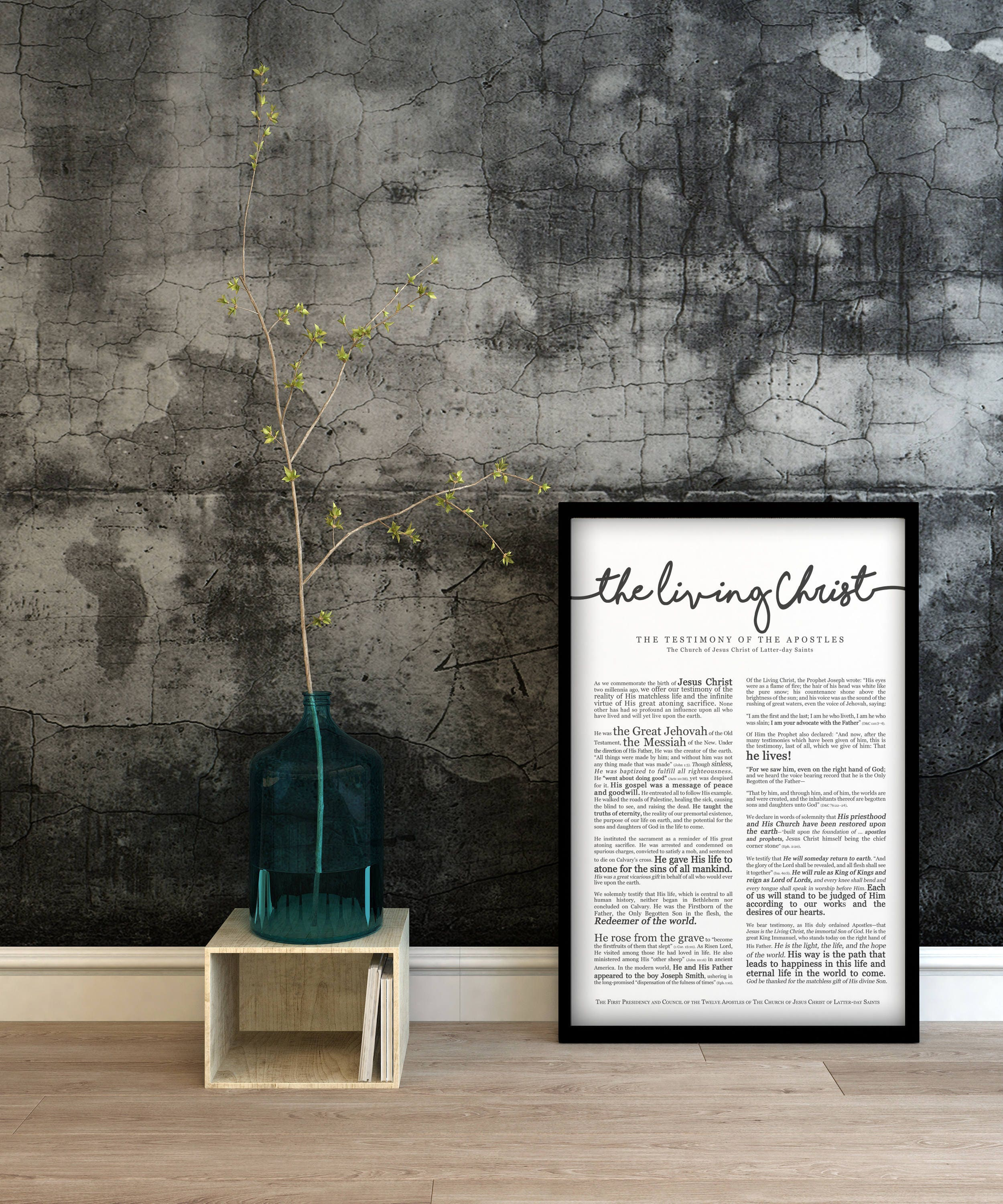photo about The Living Christ Free Printable named The Residing Christ Print- upon Top quality Paper- LDS