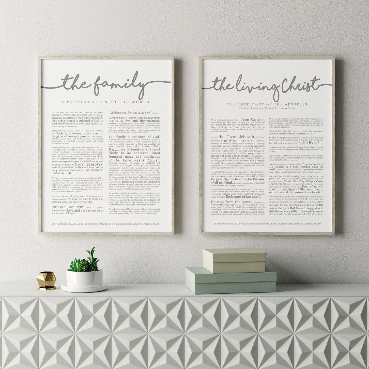 graphic about The Family a Proclamation to the World Free Printable known as Substantial Household Proclamation Print 18 x 24- LDS
