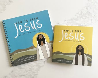 How To Draw Jesus- Drawing Book, Art Guide