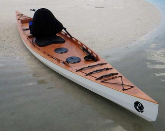 F1430 Sit On Top Kayak  Full Size Templates, Set of Plans and Assembly Manual