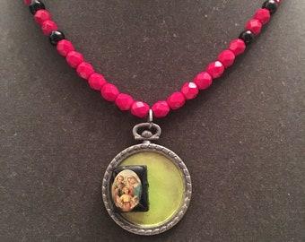 Sagrada familia necklace