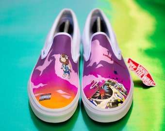 49a8f617a537 Kanye West (Graduation) Custom Vans