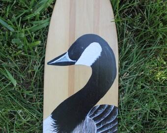 Duck Painted Oar