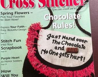 SUMMERSALE The Cross Stitcher Magazine February 2005, 24 New Charts!