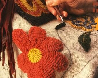 SUMMERSALE Rug Hooking, Basic Rug Hooking Pattern Book