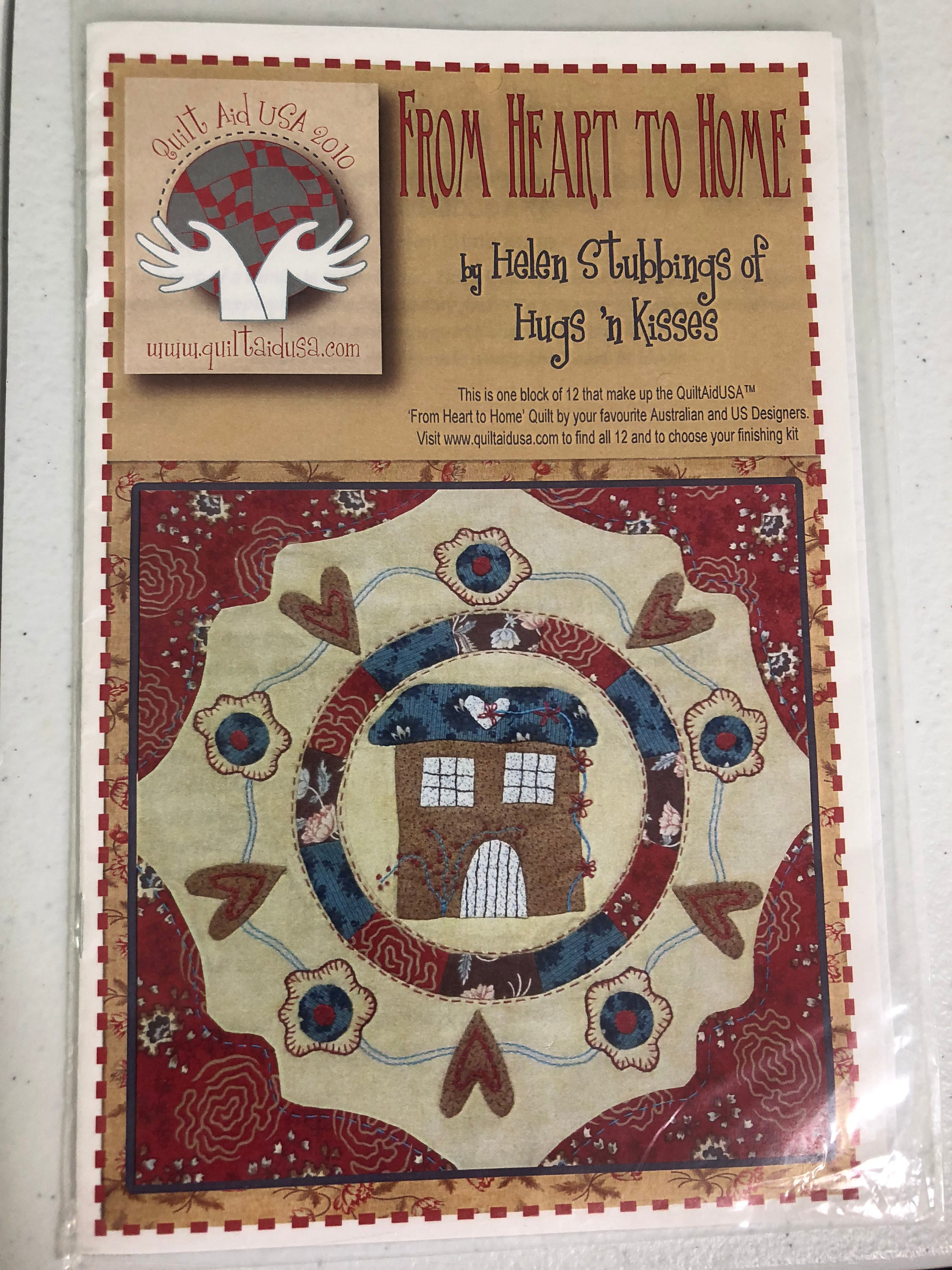 From Heart To Home By Helen Stubbings Of Hugs N Kisses Quilt