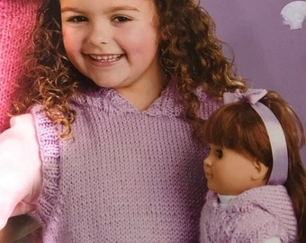 SUMMERSALE Matching Knits for Girls and Dolls