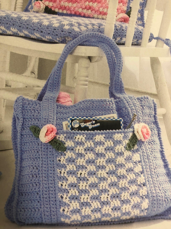 Lily Sugar N Cream Victorian Charm Crochet Pattern Book Etsy