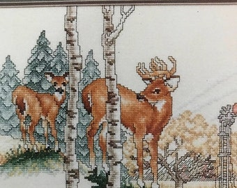 SUMMERSALE Stoney Creek Collection, The Wary Approach, Vintage  counted cross stitch design leaflet 28