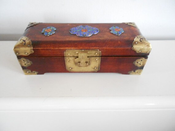 Chinees vintage jewellery box - 1970's