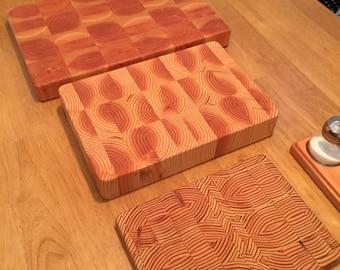 Wood Cutting Board - Handmade