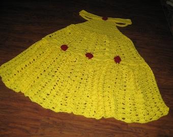 Crochet Princess Dress Blanket