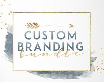 b9fca329f320 Custom Branding Bundle, Custom Logo Package, Custom Branding, Custom Logo