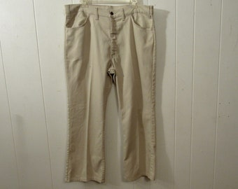 929c80af2e4 Vintage levis, vintage jeans, vintage clothing, Levis big E, big E pants, Levis  STA PREST, white denim, 38 X 27