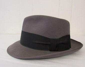 7a0cf7763 1950s fedora hat | Etsy