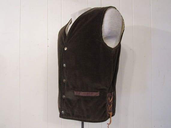 Vintage vest, 1950s vest, Towncraft, vintage cloth