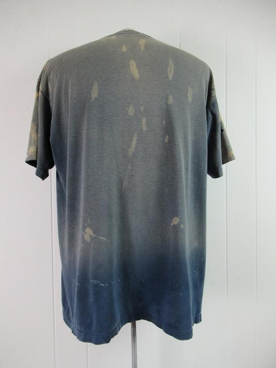Vintage t shirt, painter's t shirt, distressed t … - image 5