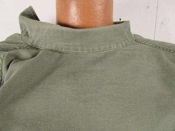 Vintage jacket, Army jacket, 1950s jacket, shirt … - image 8