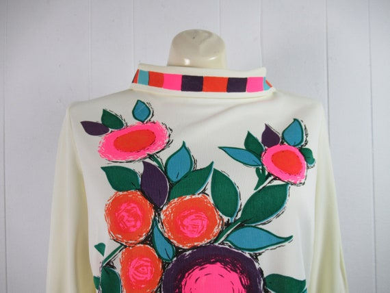Vintage Mr Dino shirt, vintage blouse, 1960s shir… - image 2