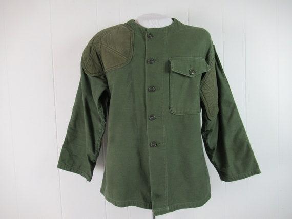 Vintage jacket, cotton shooting jacket, Vietnam ja