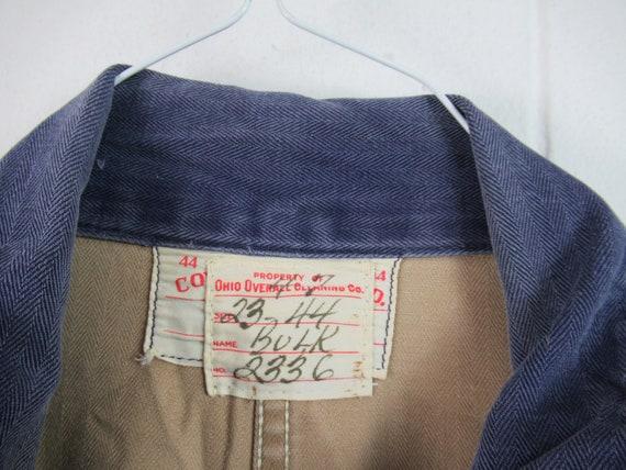 Vintage coveralls, vintage workwear, 1940s covera… - image 4