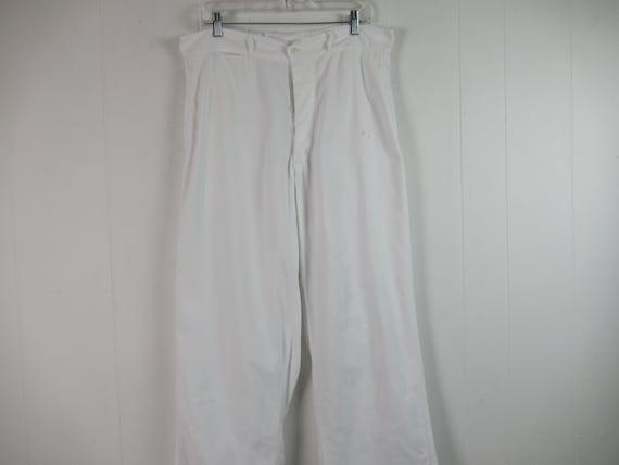 Vintage pants, work pants, 1940s pants, cotton pan