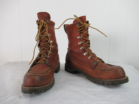 Vintage boots, Red Wing boots, Irish Setter boots,
